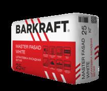 Шпаклёвка цементная BARKRAFT MASTER FASAD WHITE